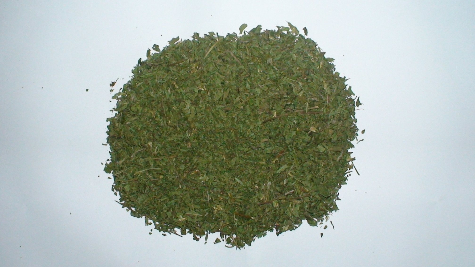 Dried stevia leaf-stems small, class 2